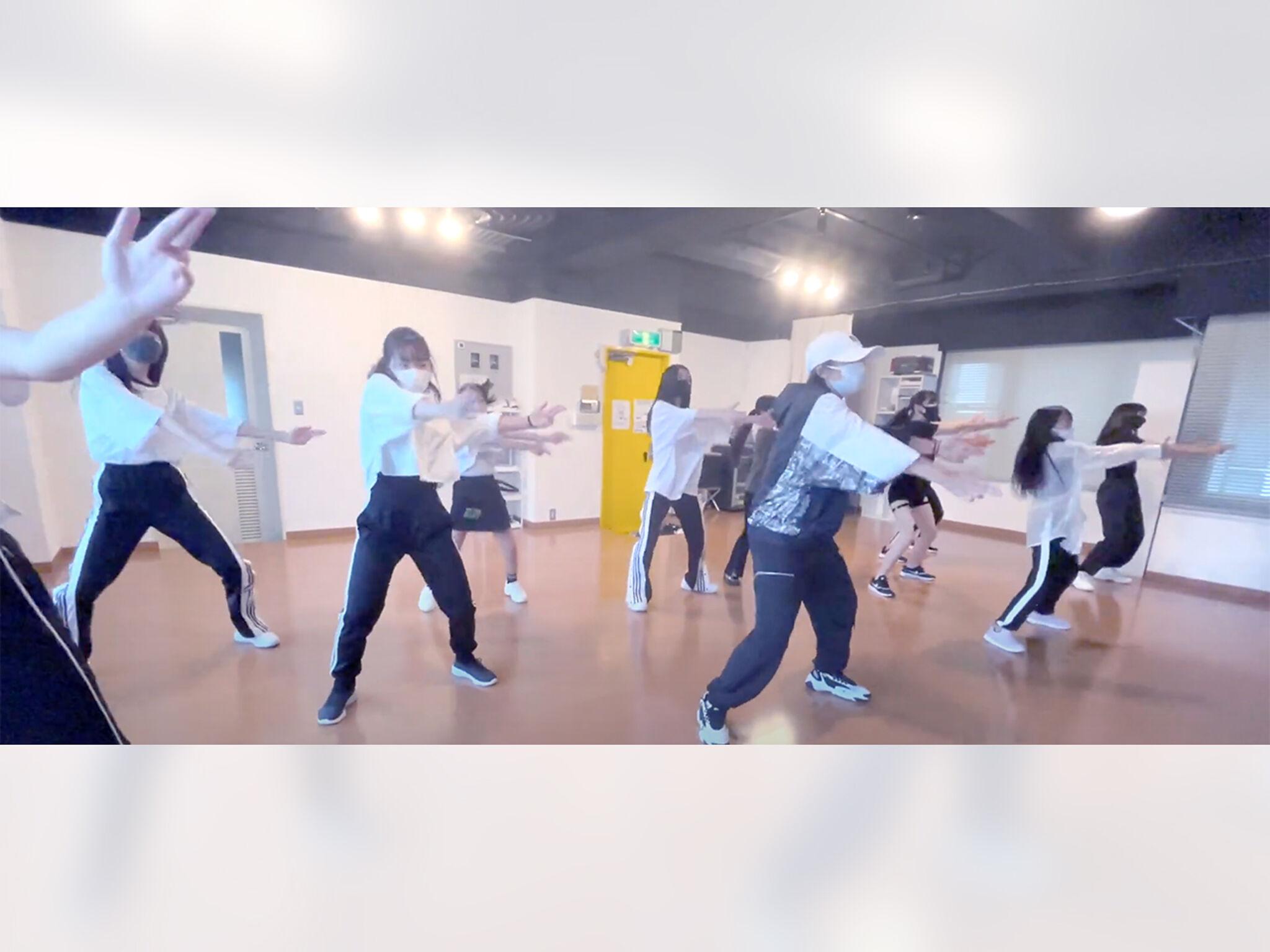 「TSダンスカンパニー」レッスン風景