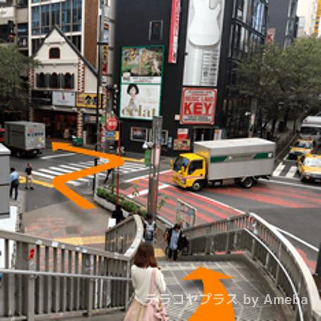 モチベーションアカデミア渋谷校のアクセス方法の画像4