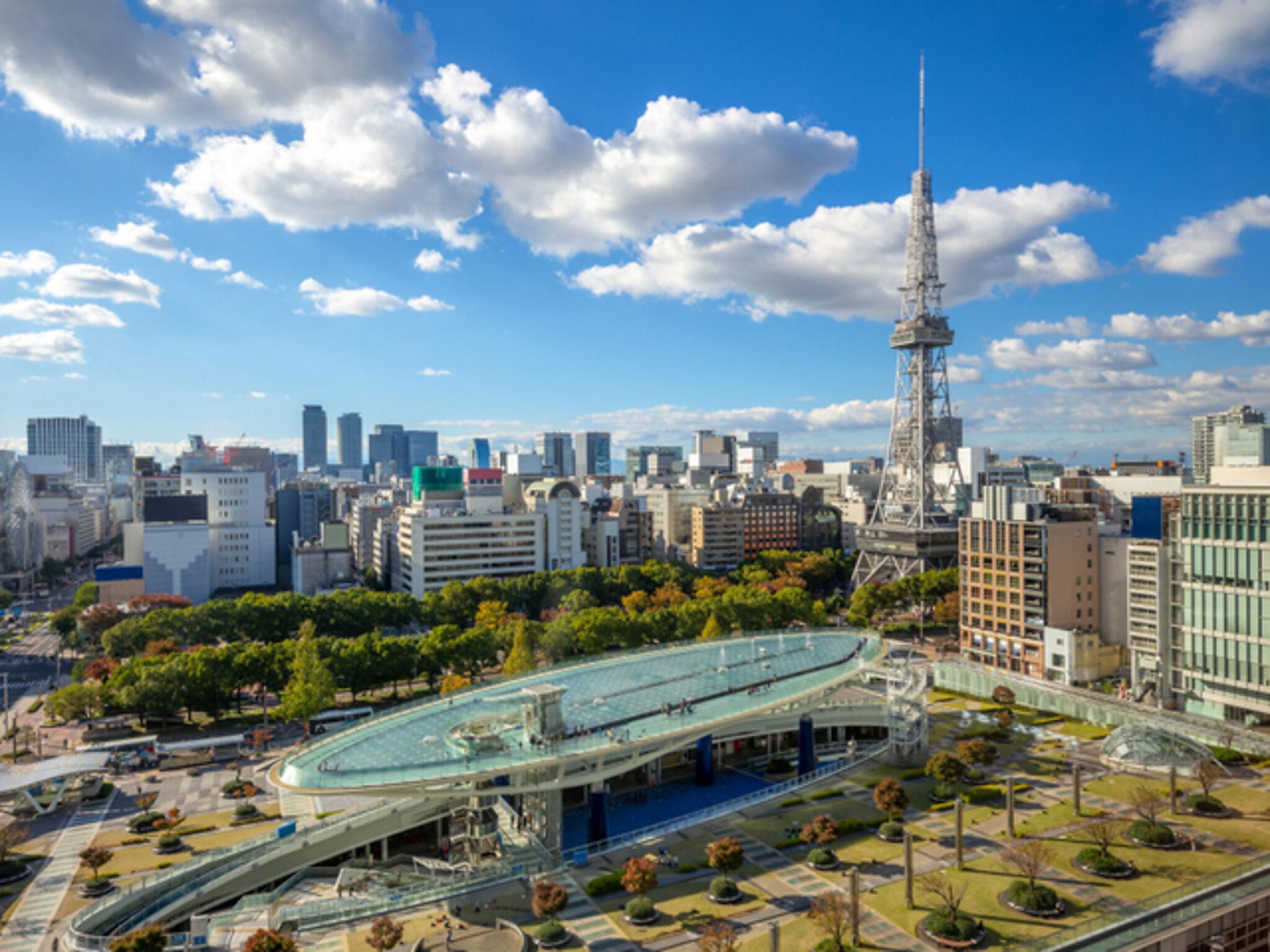 名古屋市街地の画像
