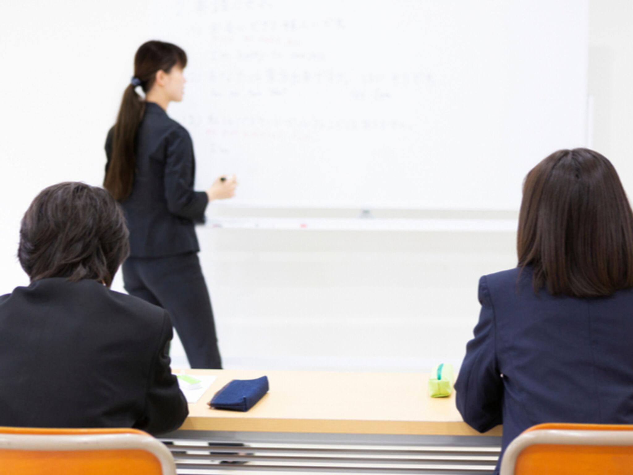 塾の授業風景