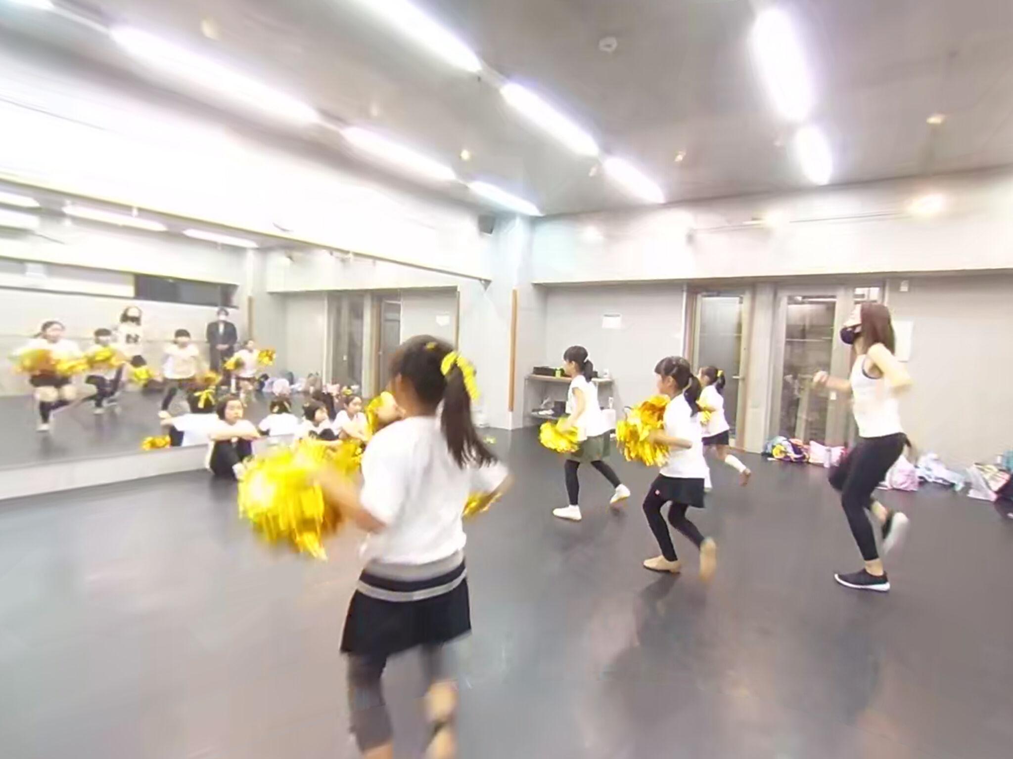 ダンススクールでの実証実験