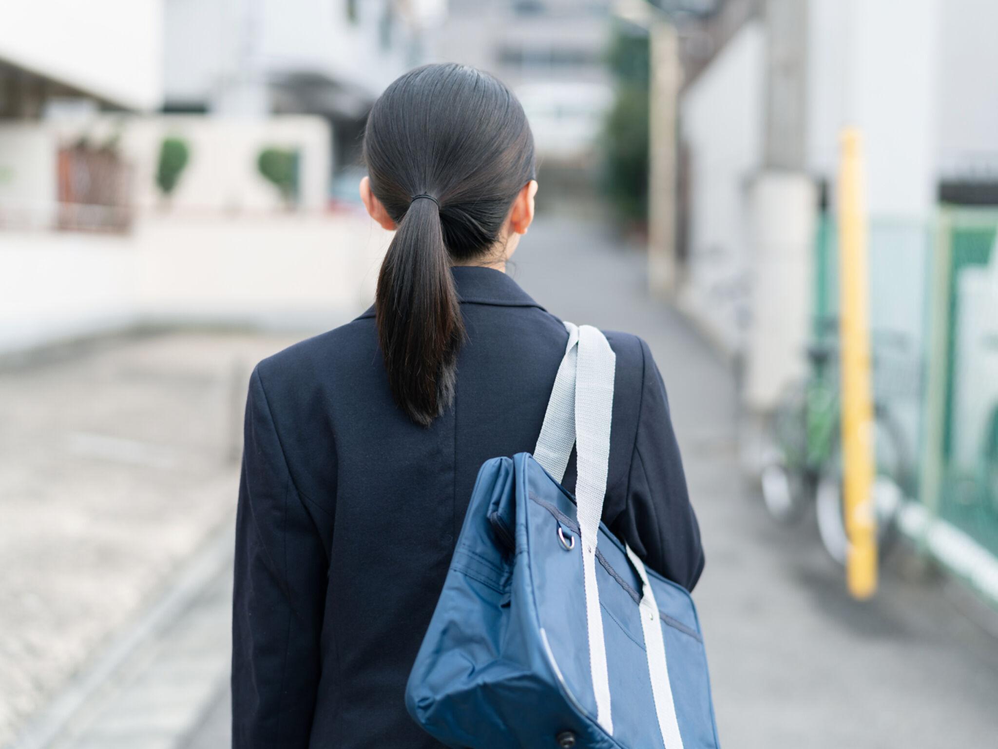 通塾している中学生の画像