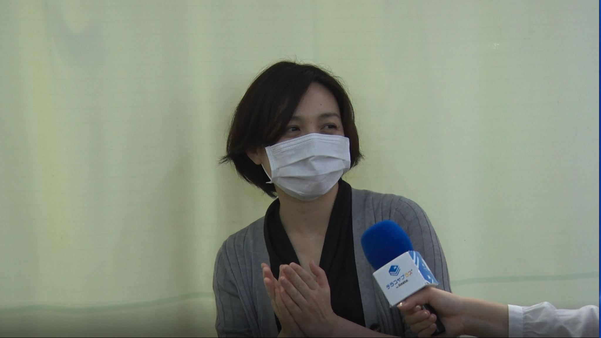 英語キッズチア保護者インタビュー画像