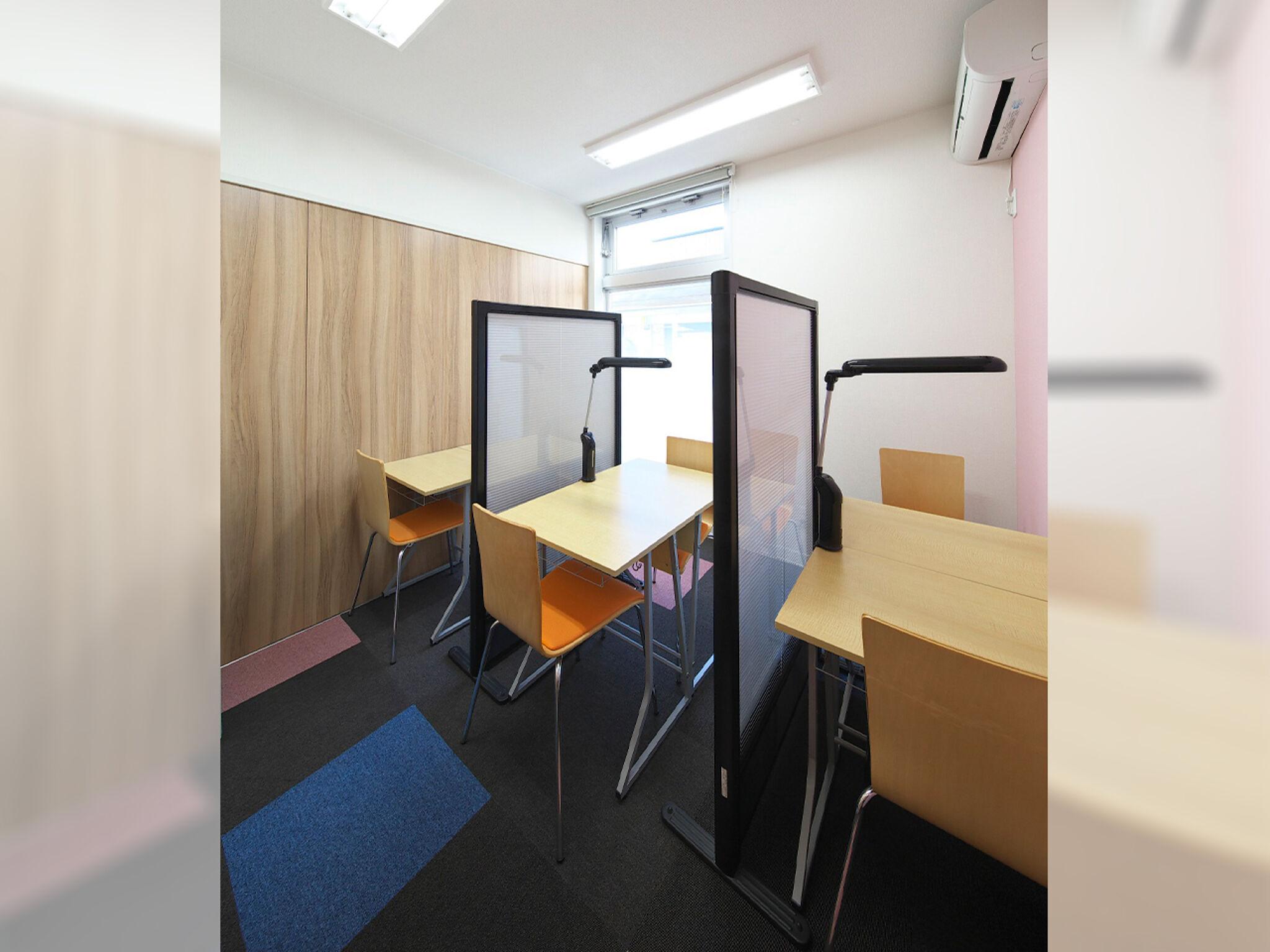 ITTO個別指導学院の教室内画像