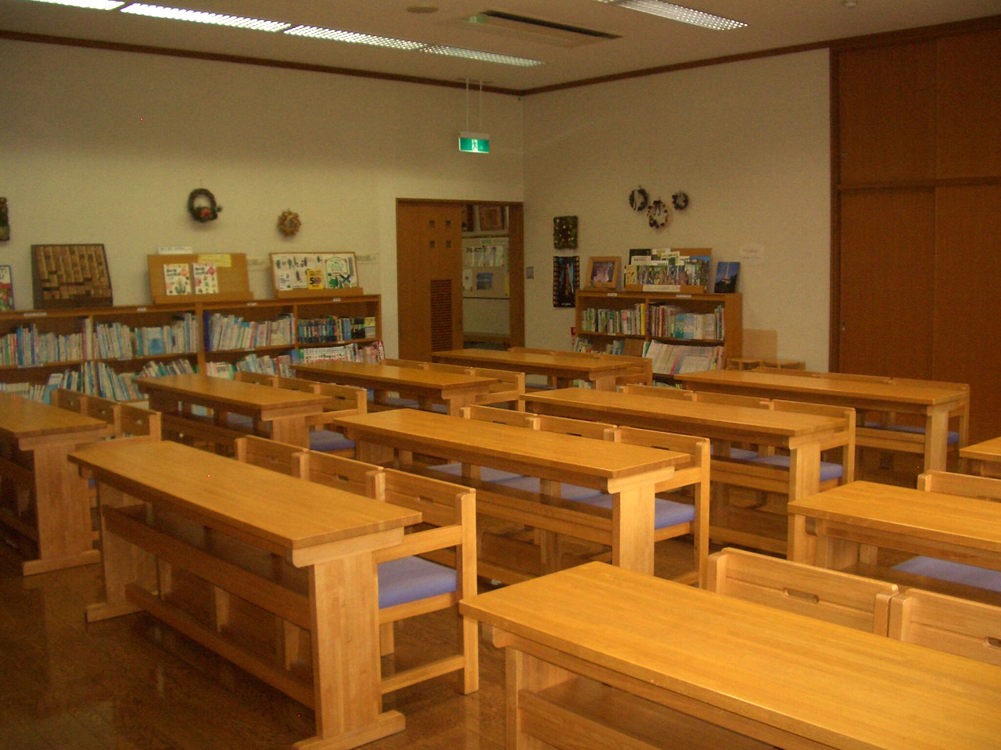 学習室および図書コーナーの画像