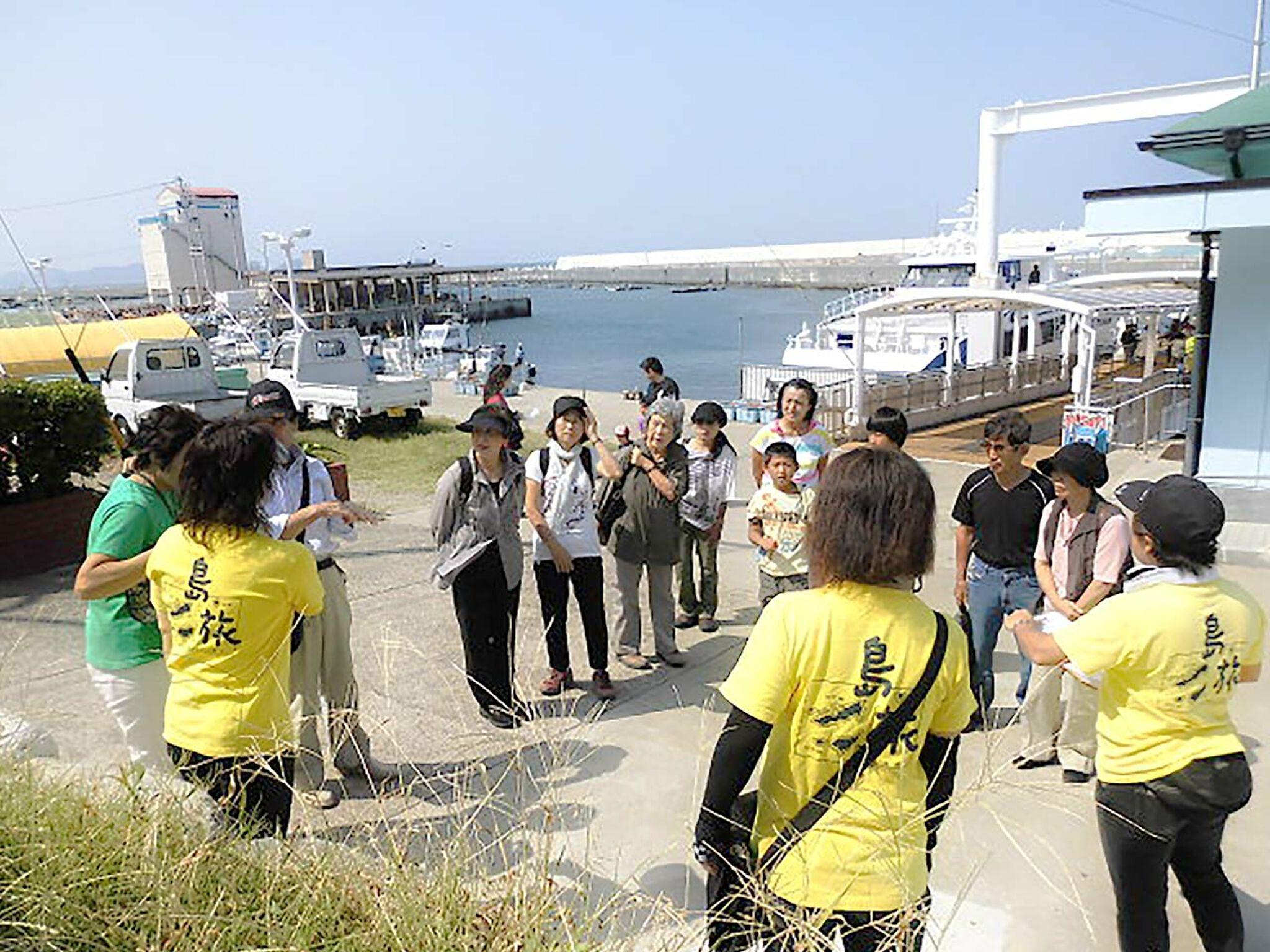 神島最初の挨拶の画像