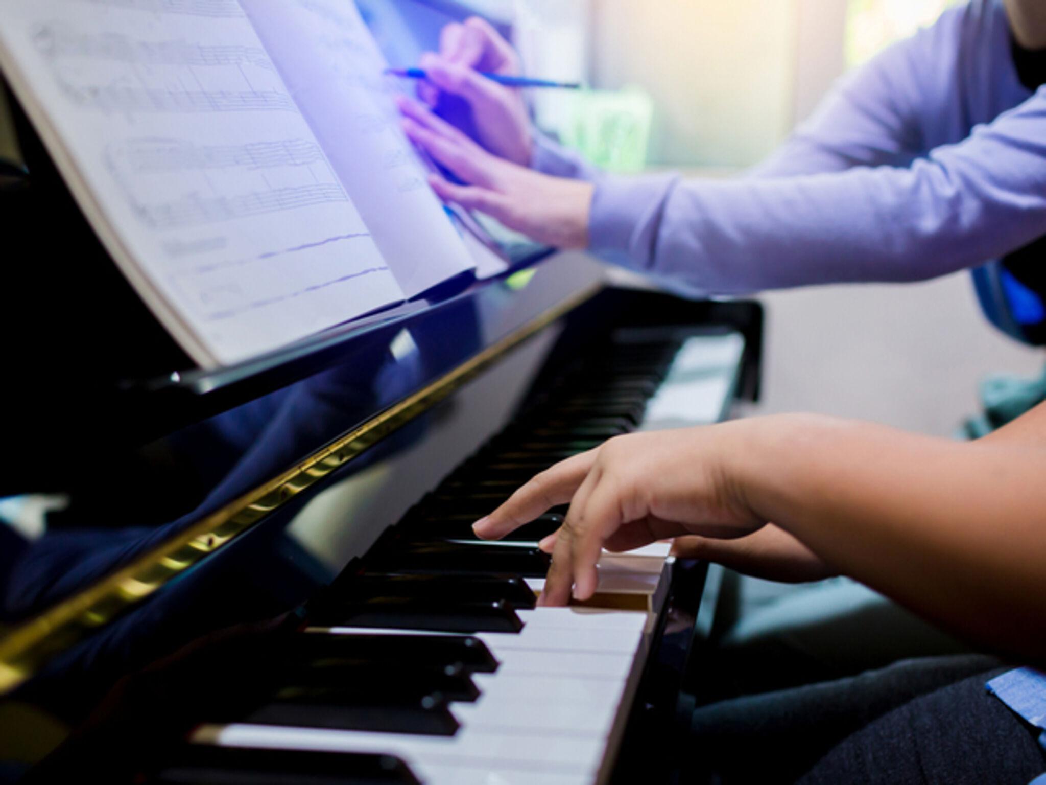 個人のピアノ教室の画像