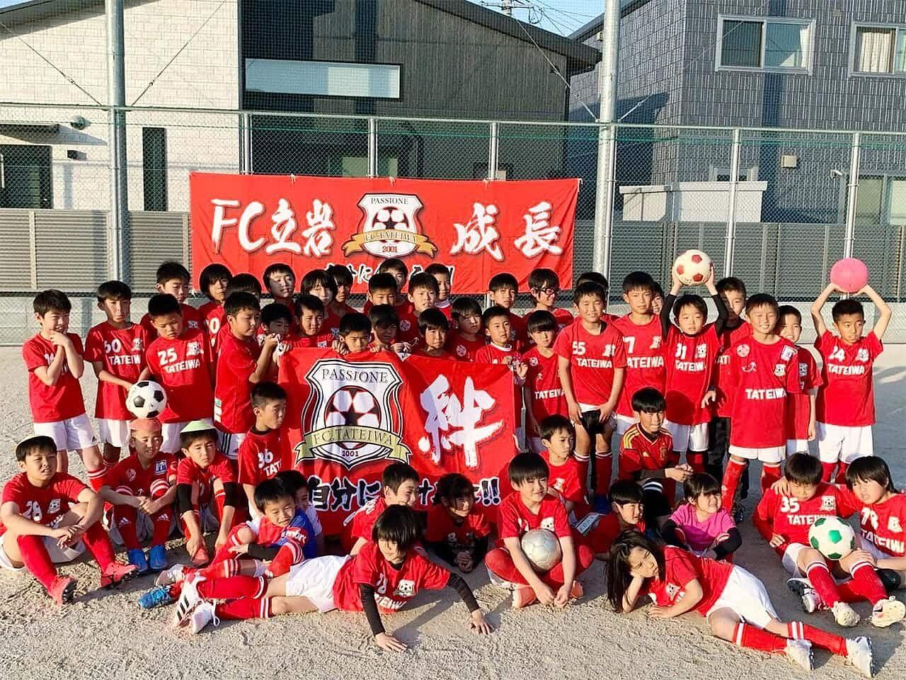 サッカーチームの画像