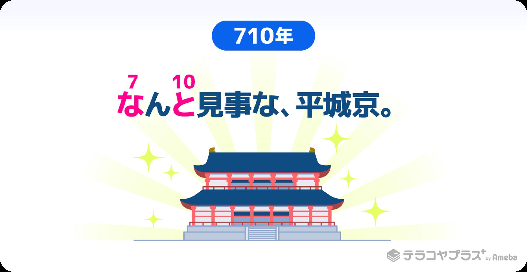 平城京のイラスト画像