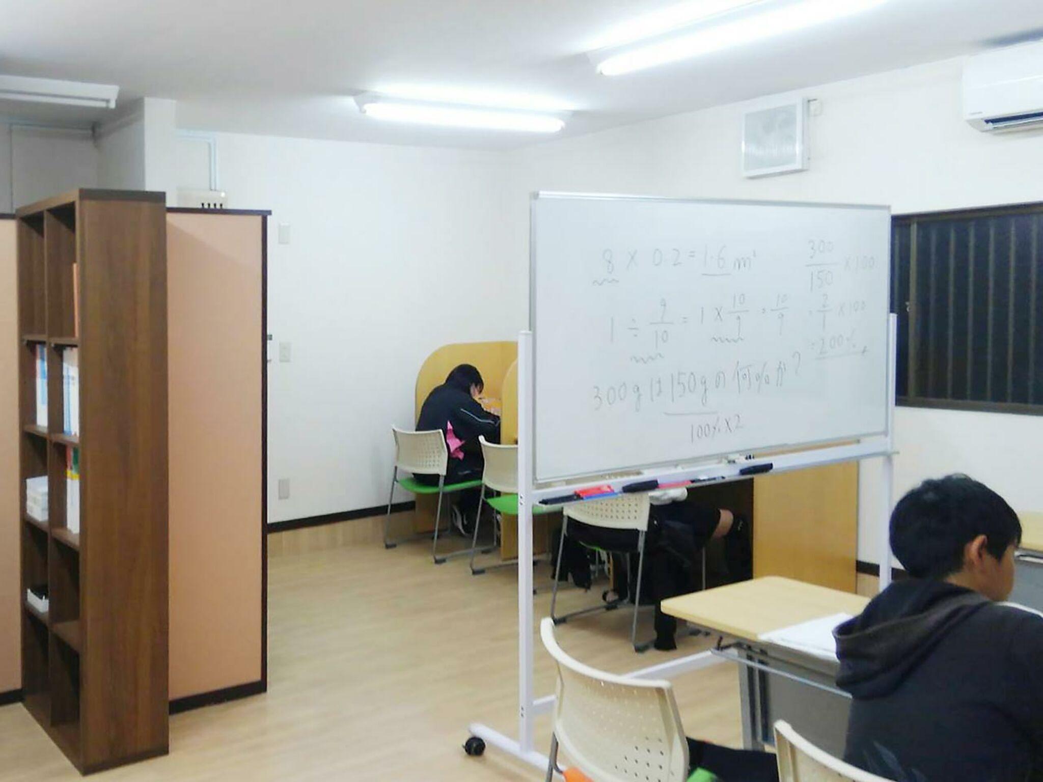教室内部の風景